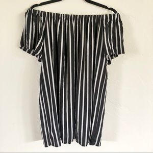 NWOT French Connection Striped Shift Dress